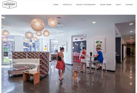Website Design for Cory Klein Photogrpahy