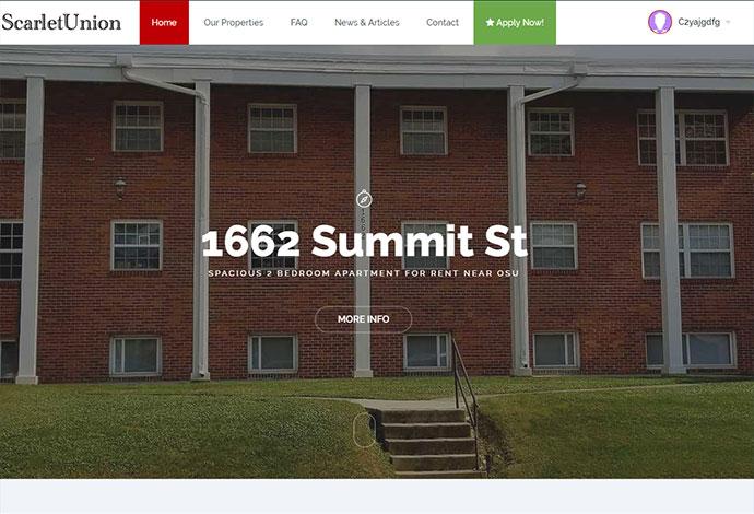 Rental Property Tenant Portal