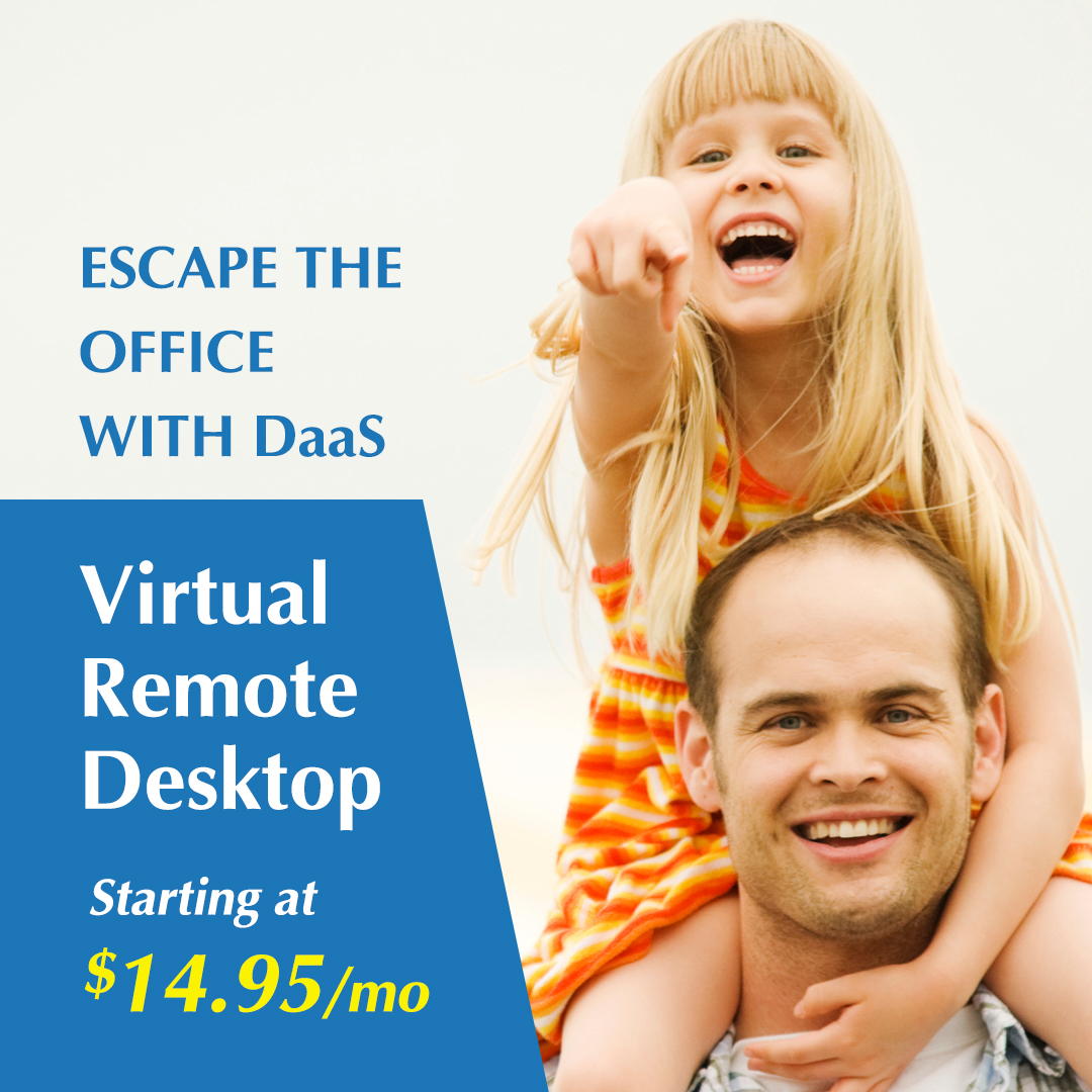 Infosaic DaaS Remote Desktop Facebook Advertisement