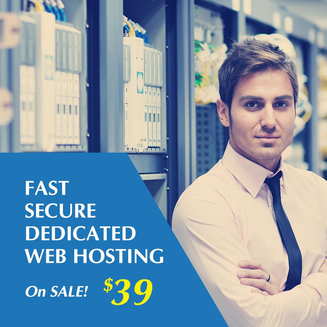 Infosaic Dedicated Web Hosting Facebook Ad