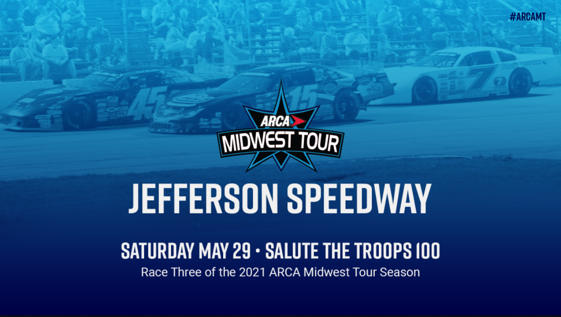Midwest Tour Returns To Jefferson Speedway