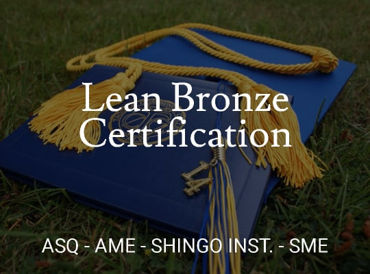 Lean Bronze Certification