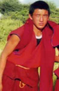 Kalsang Wangchuk, aged 17, at a summer picnic prior to his self-immolation. He set himself on fire on October 3, 2011.