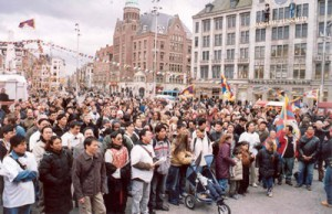 Rally in Amsterdam