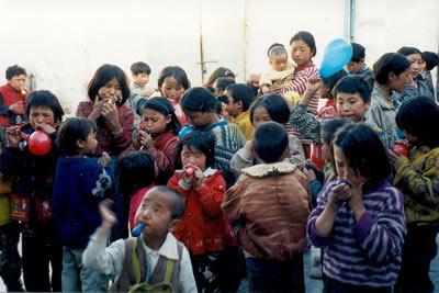 Gyatso Home in Tibet