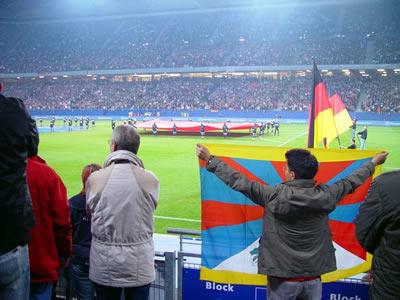soccer match protest