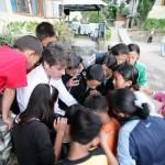 ICT field staff hears the stories of Tibetan refugee children [Tibetan Children's Village, Dharamsala, India]