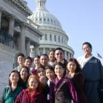 ICT Tibetan Youth Leadership Program participants [US Capitol, Washington, DC, March, 2002]