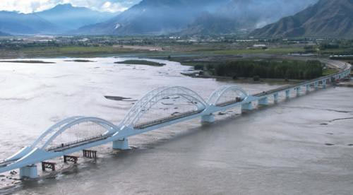 railway bridge on the Kyichu River