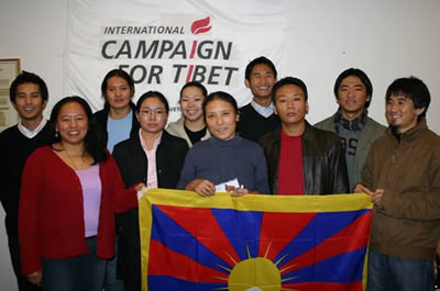 Participants of the 2005 Tibetan Youth Leadership Program.