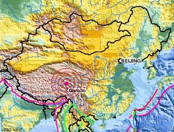 earthquake USGS