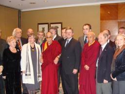 Tibet Intergroup and the Dalai Lama