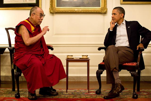 President Obama meets with His Holiness the Dalai Lama