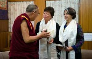 Jarrett, Otero, Dalai Lama