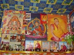 Dalai Lama shrine