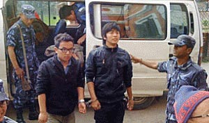 The 13 Tibetans were released on March 6, 2012