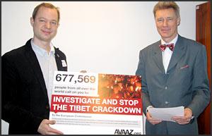 Avaaz petition