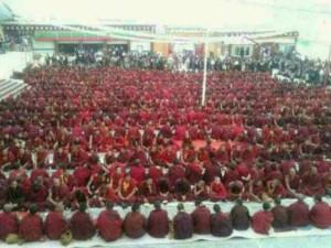 Nyatso monastery, major religious gathering