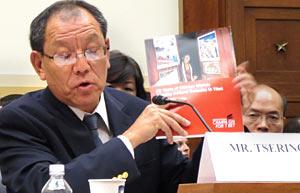 Bhuchung Tsering testifies