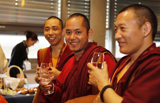 ICT Light of Truth Award ceremony - Robert Ford Dalai Lama