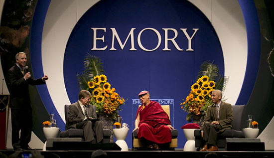 The Dalai Lama at Emory University