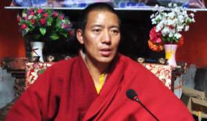 Khenpo Kartse was detained on December 21, 2013. (Photo: Tsering Woeser)