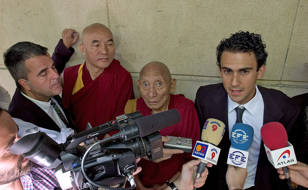 Tibet case in the Spanish court