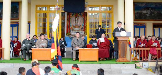 Sikyong Dr. Lobsang Sangay