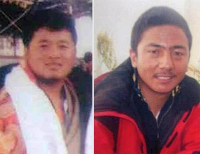 Norbu Dorje and Gergon