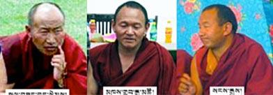 Kalsang Gyatso, Khedrup Gyatso, Sangay Gyatso