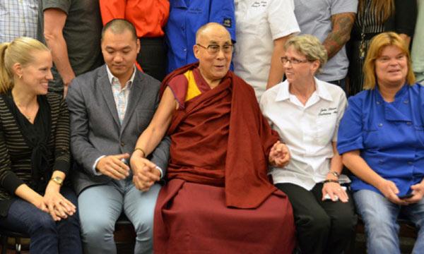 Dalai Lama in Vancouver