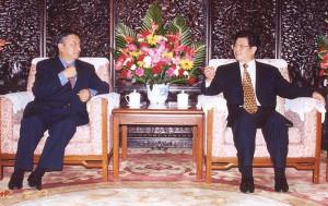Lodi Gyari meeting with Wang Zhaoguo
