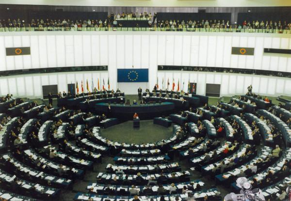 Dalai Lama addresses the European Parliament