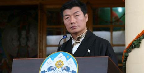 Sikyong Lobsang Sangay of the CTA