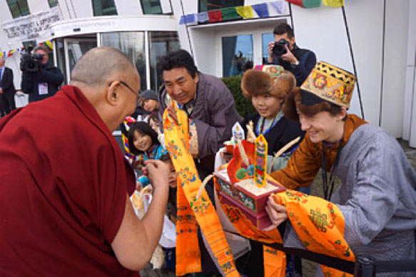 Dalai Lama Denmark