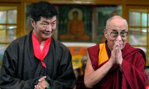 Sikyong and the Dalai Lama