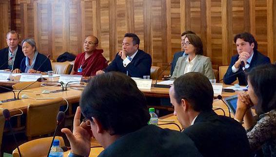 Lockdown in Tibet panel at UN