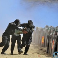 counter-terrorist military drill