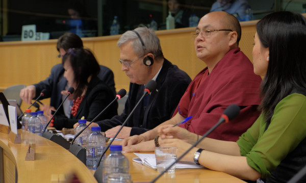 Golog Jigme testifying