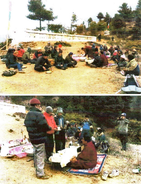 Gora Choeten, Solukhumbu