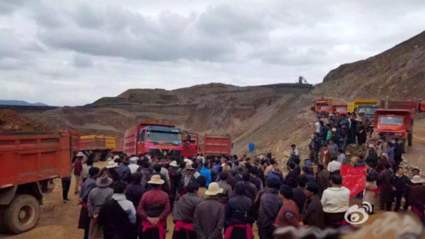 mining protest