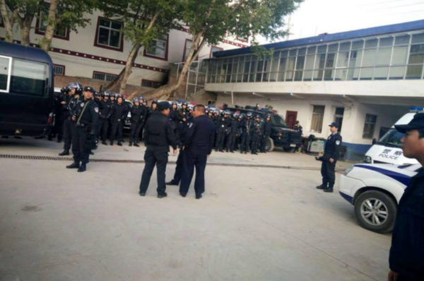 Armed Chinese police