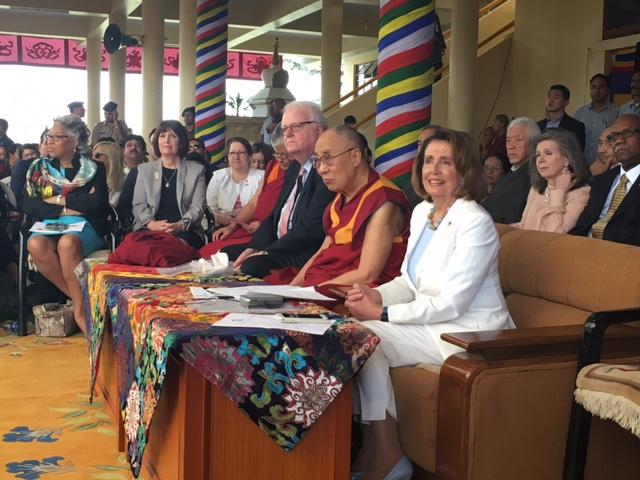 Dalai Lama and Congressional Delegation
