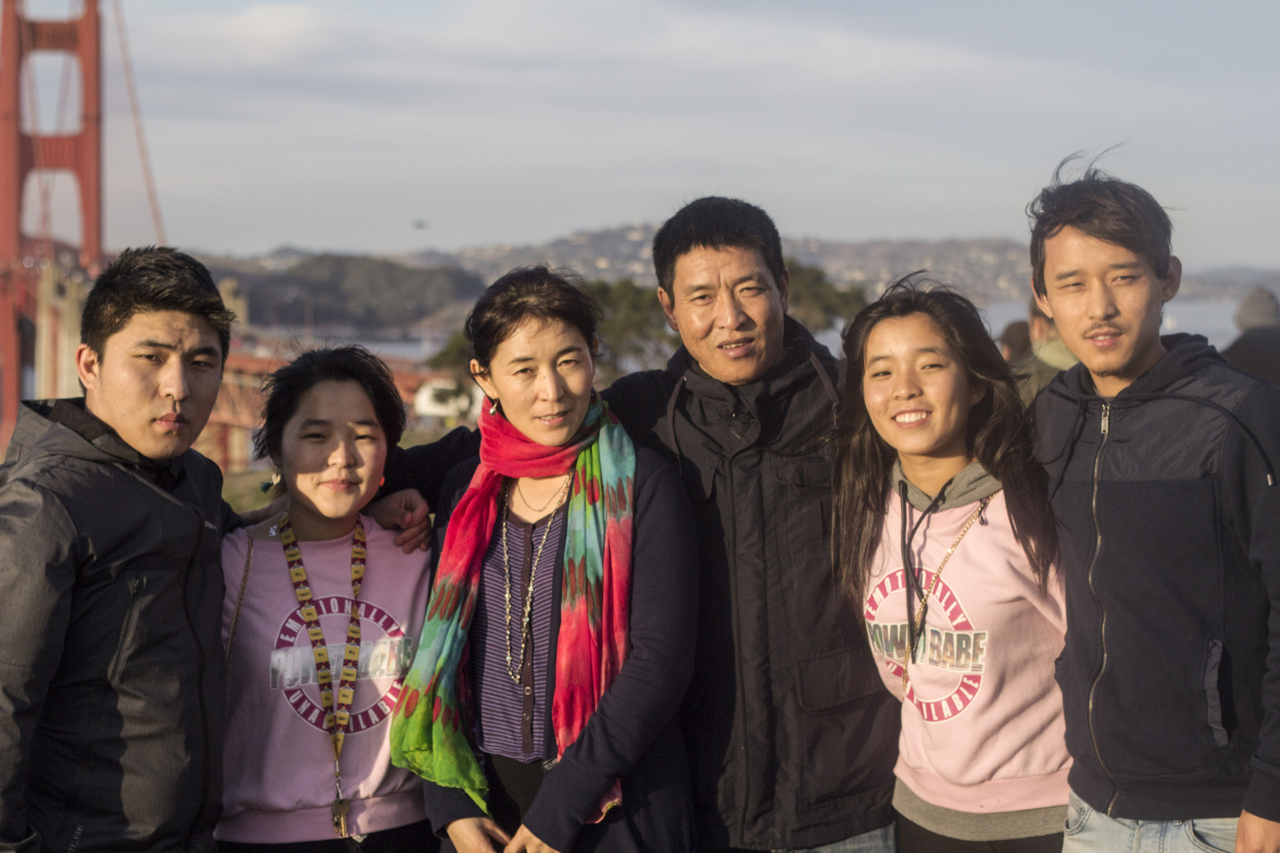 Dhondup Wangchen arrives safely in the United States