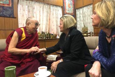 Congressional Delegation visits Dharamsala, meets Dalai Lama