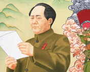 Mao in traditional Tibetan painting