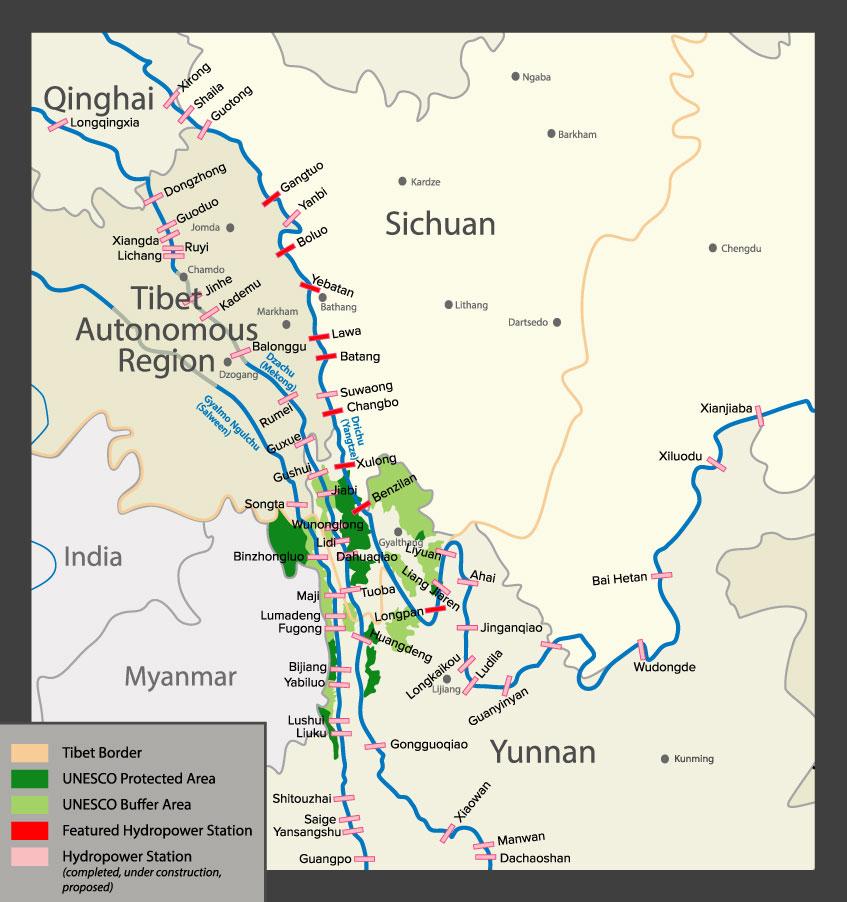 dam map