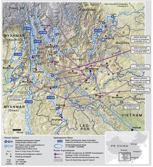 Yunnan dams
