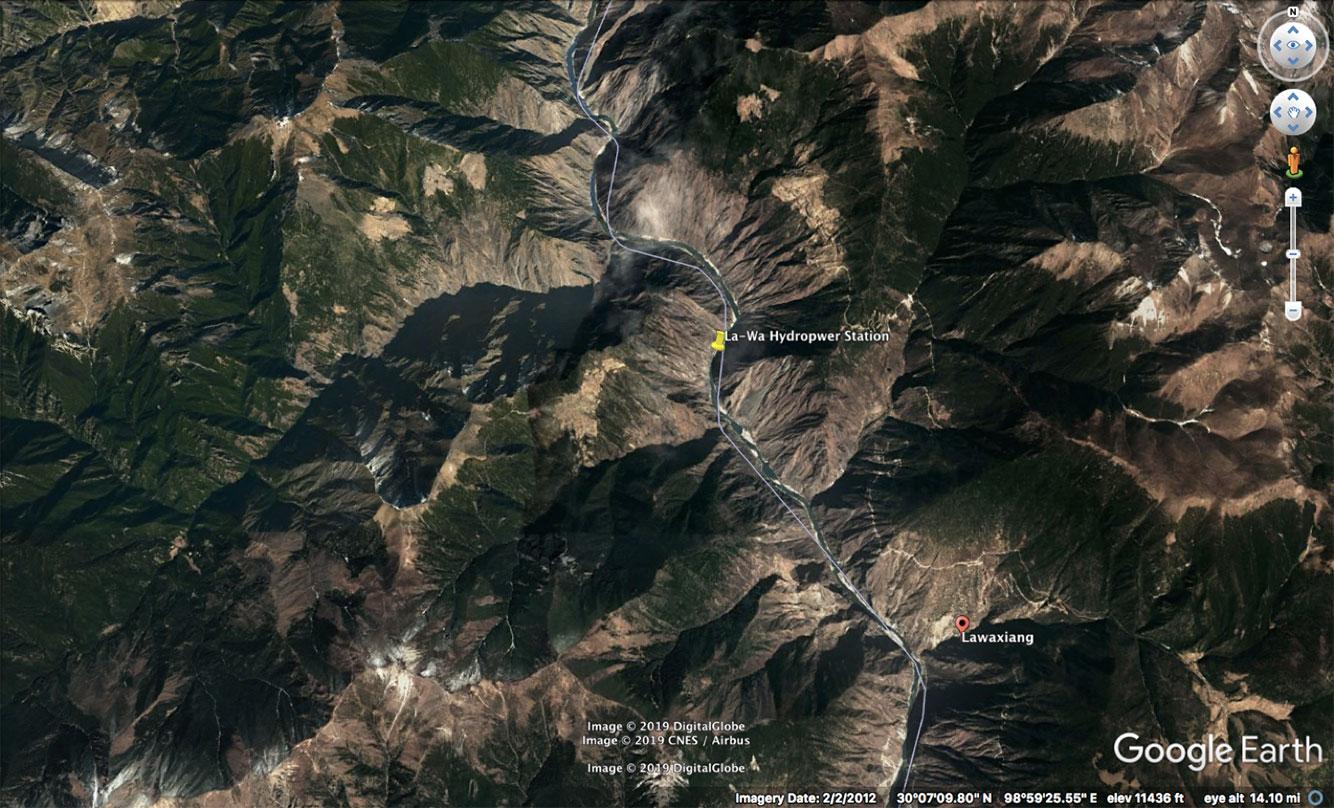 Lawa hydropower station