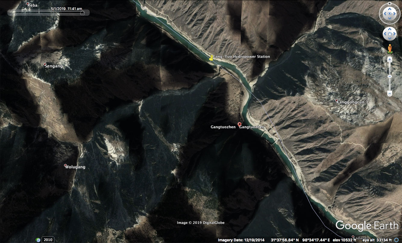 Gangtuo hydropower project